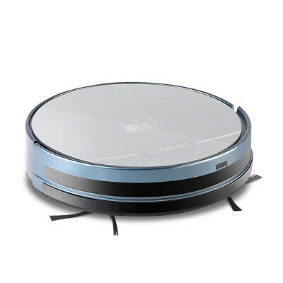 300ml Robot Vacuum Cleaner Silver and Blue