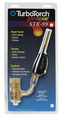 TurboTorch 0386-0851 STK-99 Self Lighting Dual Fuel Swivel Hand Torch
