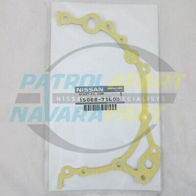 Genuine Nissan Patrol GQ GU RD28 Oil Pump Gasket (1506671L00)