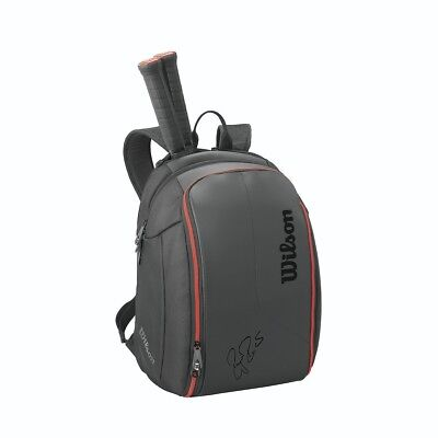 Wilson Federer DNA Bag Collection Tennis Bag Backpack Black