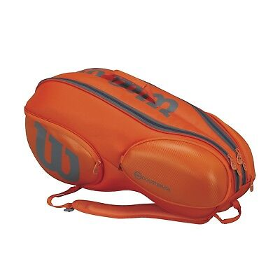 Wilson Vancouver 9 Pack Orange Grey