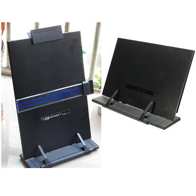 Adjustable Portable Book Document Steel Stand Reading Desk Holder Bookstand NEW
