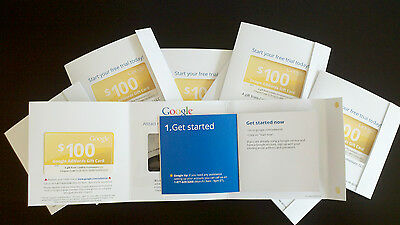Google Adwords $100€75£75 Advertising credit & PPC. All World. 88 countries.