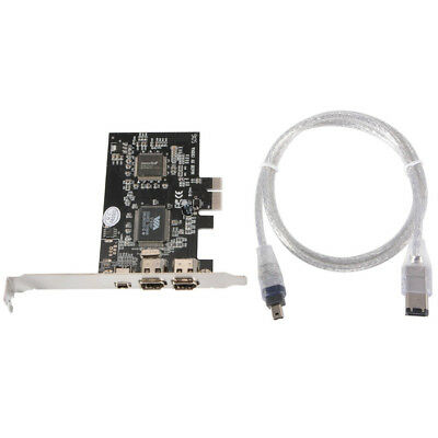 PCI Express Expansion 1394 Firewire IEEE1394 iLINK Adapter Controller Card AC698