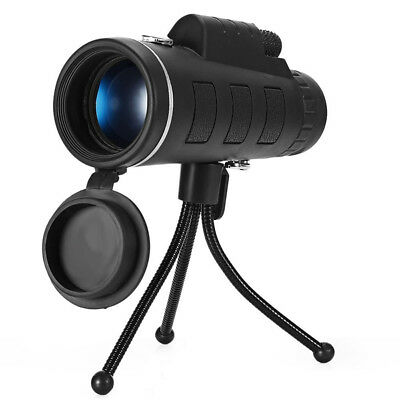 Clip-on HD 40 X 60 Zoom Optical Telescope Camera Lens +Tripod For iPhone Samsung