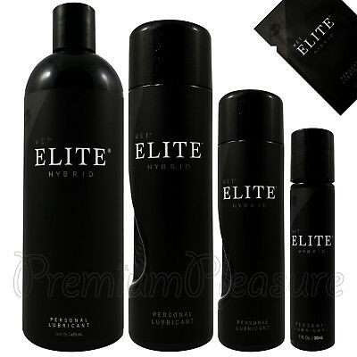 WET Elite lubricant * Silicone & Water based Hybrid lube * Premium personal gel