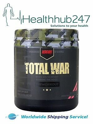 Total War 435Gms - Pre Workout Watermelon 30 Serves Redcon1  Express Delivery