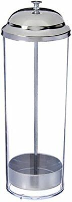 New Star Foodservice 26641 Stainless Steel Straw Dispenser Holder, 3.5 by