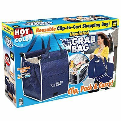 Original Insulated Grab Bag Hot or Cold Reusable Grocery Bag GRABBAG