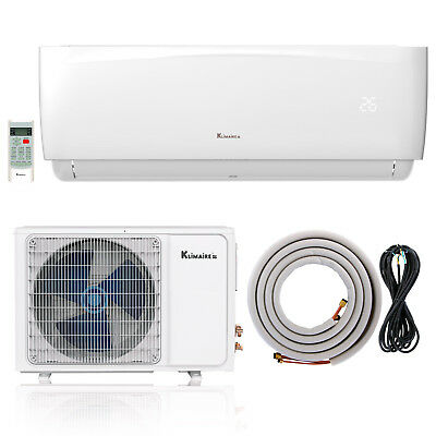 Klimaire KSIA Ductless Mini-Split Inverter Air Conditioner Heat Pump System