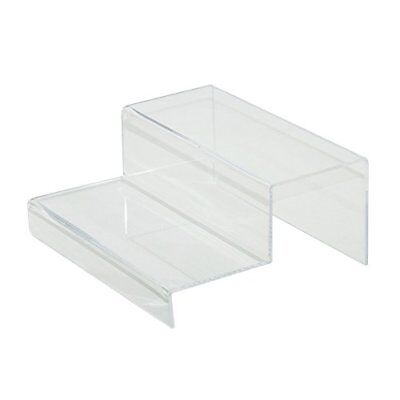 Clear 2 Tier Acrylic Riser Step Display by Combination of Life