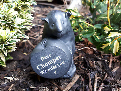 Guinea Pig Memorial - Personalised - Weatherproof - Memorial - Perfect in garden