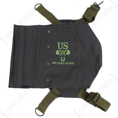 Camping & Hiking Back To Search Resultssports & Entertainment Ww2 Wwii Us Army Normandy D-day M5 M7 Gas Mask Bag Pack Carrier Repro Black