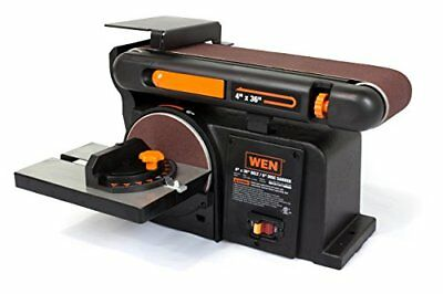 WEN 6502 4 x 36-Inch Belt and 6-Inch Disc Sander with Cast Iron Base
