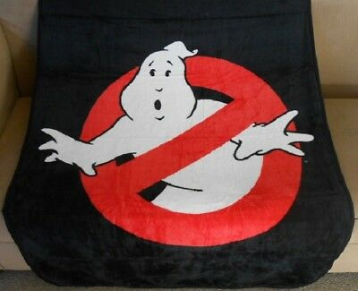 New Ghostbusters Soft Plush Gift Throw Blanket No Ghosts Logo Movie Film 2016