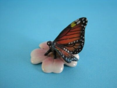 """NEW LITTLE CRITTERZ INSECT """"MILKWEED'' MONARCH BUTTERFLY FIGURINE *Mint*"""