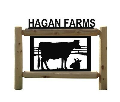 Cows - Holsteins - Farm & Country Outdoor Signs - Dairy Farming