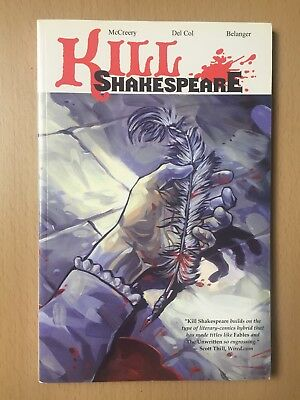 Kill Shakespeare, Volume 1 - graphic novel by Conor McCreery and Anthony Del Col