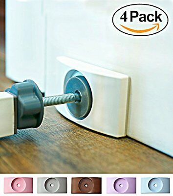 Wall Nanny (4 Pack - Made in USA) Indoor Baby Gate Wall Protector - No Safety