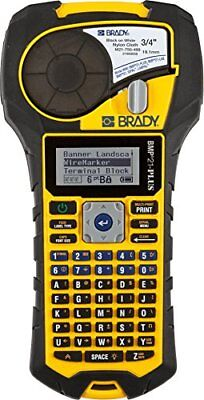 Brady BMP21-PLUS Handheld Label Printer with Rubber Bumpers, Multi-Line Print