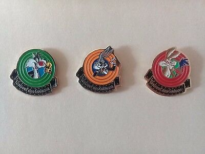 Lot de 3 Pin's Warner Bross -  Cartoon's
