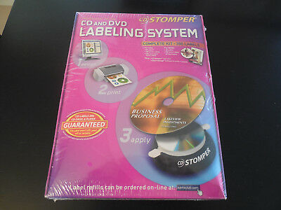 Cd/dvd  Labeling System New