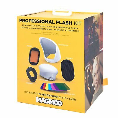 MagMod Professional Kit with MagGrip, MagSphere, MagBounce, MagGrid, MagGel etc