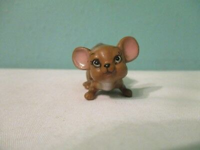 vintage SMALL mouse figurine Adorable !!