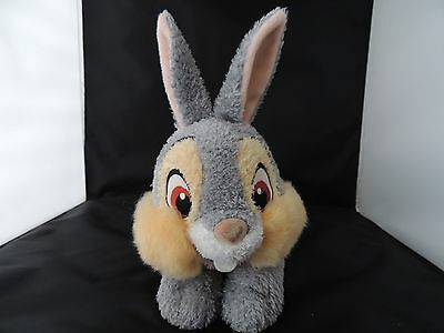 """Disney Store THUMPER floppy cuddly soft bunny 10"""" Plush toy with tush tags"""