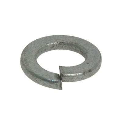 Galvanised M8 (8mm) x 14.8mm x 2mm Metric Flat Section Spring Washer Galv