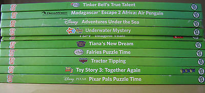 Leap Frog Tag Lot 10 HC Books VG The Cat in the Hat Dr. Seuss Toy Story 3 Disney