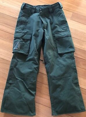 Burton Men's Dryride Restricted Snowboard Pants XS Like New Condition