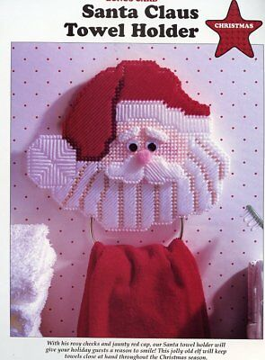 Jultomte Sweden Old World Santas Plastic Canvas PATTERN//INSTRUCTIONS Leaflet