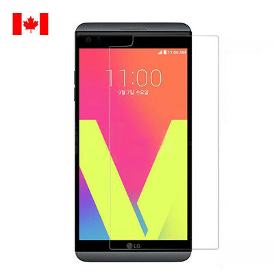For LG V20 Premium Shockproof Screen Protector Tempered Glass 9H