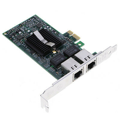 Professional Dual-Port Intel Gigabit Ethernet PCI-E Server Adapter Network Card
