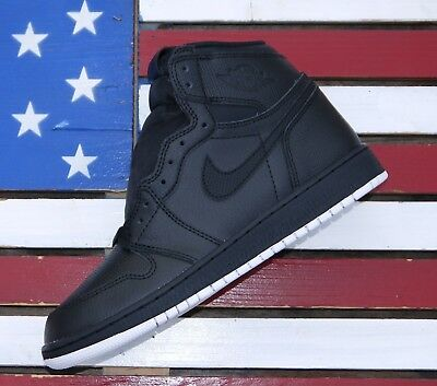 Nike Air Jordan 1 High Retro OG Black White Basketball Shoes [575441-002] I - 6Y
