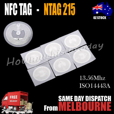 NFC TAG Sticker NTAG 215 Universal Label RFID Tag for TagMo NTAG215 Type2 Sticke