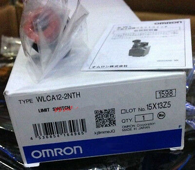 1PC  New OMRON limit switch WLCA12-2NTH AUTOMATION SYSTEM