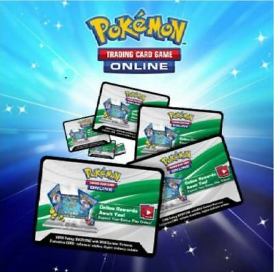 3 x Pokemon Crimson Invasion Code TCGO Cards EMAILED (60 cents each)
