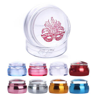 Born Pretty Clear Chess Jelly Silicone Nail Stamper Scraper Kit Tools