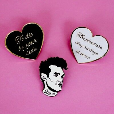 The Smiths Morrissey Pin Badges, A Guy Called Minty, Casual Connoisseur