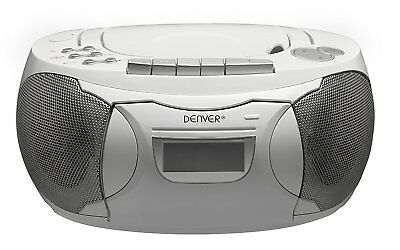 cd uhrenradio stereo mit wecker terris silber. Black Bedroom Furniture Sets. Home Design Ideas