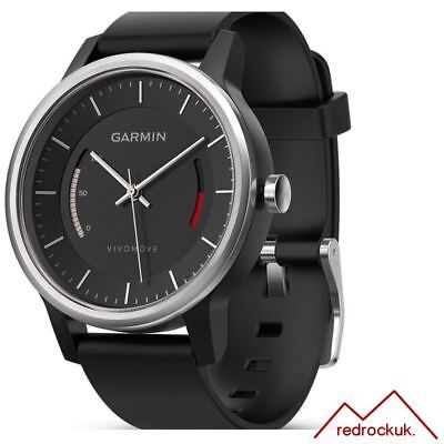 Garmin Vivomove Sport Fitness Tracker with Black Sport Band