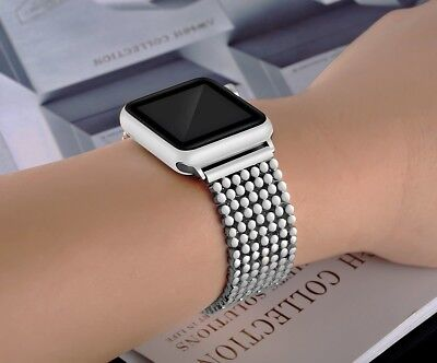 38mm Stainless Steel Bracelet iWatch Band For Apple Watch Series 1 2 3 Silver