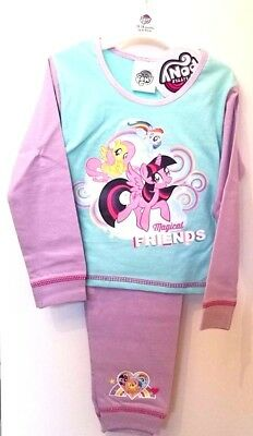 Official My Little Pony Girls Pyjamas Rainbow Dreams Ages 12 Months to 4 years