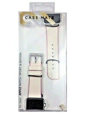 Genuine Case-Mate Edged Watch Strap Band for Apple Watch 38mm Pink CM032785