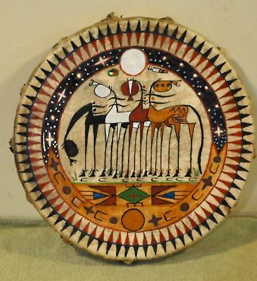 4 Amigos / Painted by Lakota Artist Sonja Holy Eagle