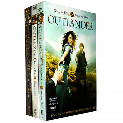 Outlander: The Complete Series Season 1 Vol. 1&2 and Season 2(DVD,9-Disc Set)