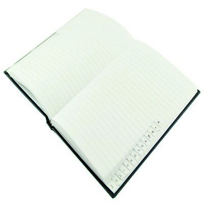 A6  A-Z ADDRESS INDEXED/FEINT BLUE HARDBACK BOOK in Various quantities
