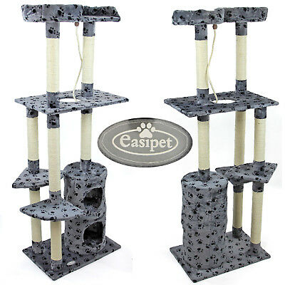 Cat Tree Scratching Post Activity Centre Scratcher Kitten Play Toy Scratch Bed